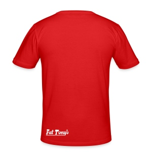 widefive / red slimfit - Men's Slim Fit T-Shirt