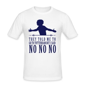 Willian No No No - Men's Slim Fit T-Shirt