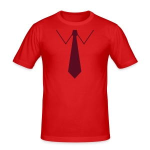 Fake Tie - Men's Slim Fit T-Shirt