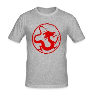 Red Dragon - Men's Slim Fit T-Shirt