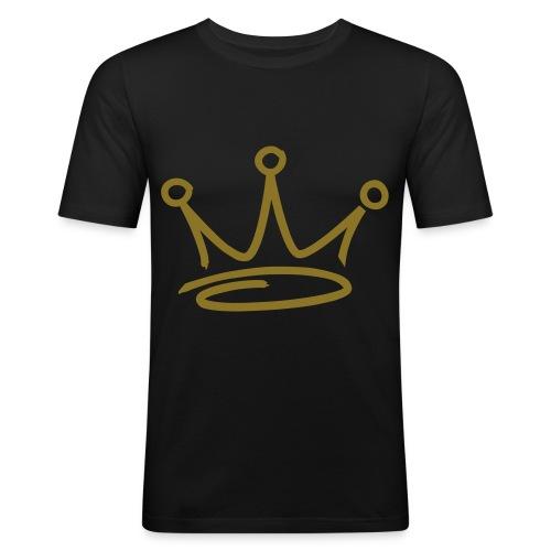 GBL BLACK / GOLD - Men's Slim Fit T-Shirt