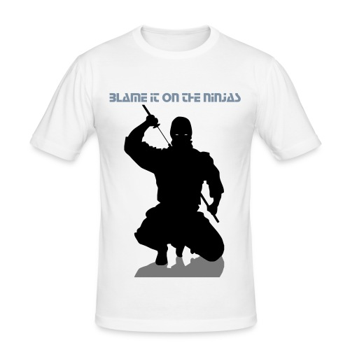 ninja - Men's Slim Fit T-Shirt