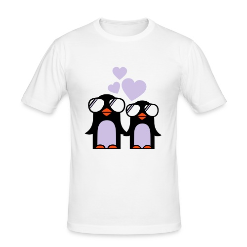 Cool Pinguins - Men's Slim Fit T-Shirt