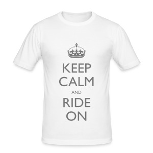 Ride on  - Men's Slim Fit T-Shirt