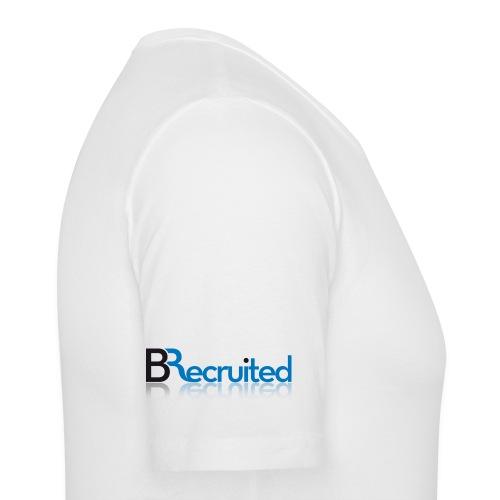 BRecruited - Plain Shirt - Logo on sleeve - Men's Slim Fit T-Shirt
