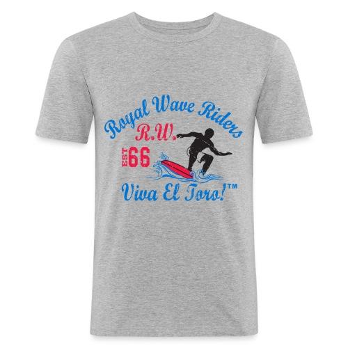 Royal Wave Riders - Maglietta aderente da uomo