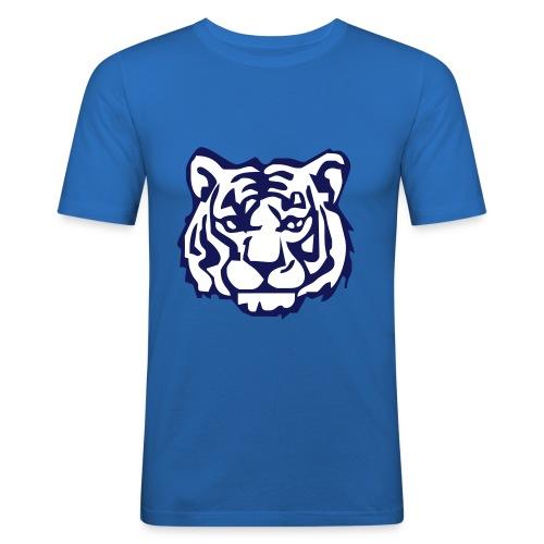 White tiger - Männer Slim Fit T-Shirt