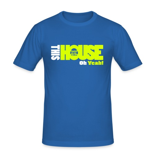 this_house_yeah - Tee shirt près du corps Homme