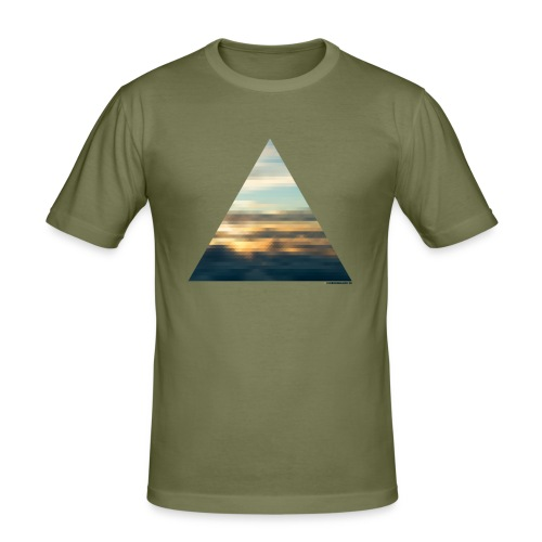 Denmark 58 Dark Brown T-Shirt Homme - T-shirt près du corps Homme