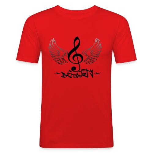 Beasty Fan Shirt ROT - Männer Slim Fit T-Shirt