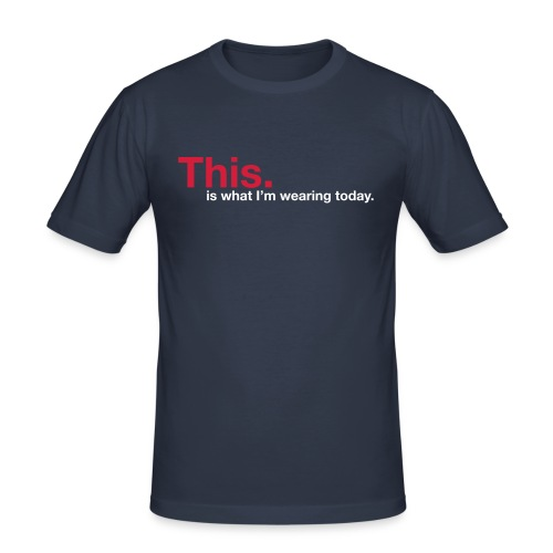 This! - slim fit T-shirt