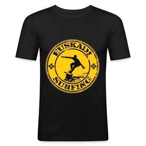 Euskadi surfing - Men's Slim Fit T-Shirt