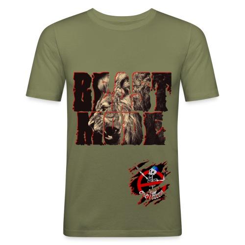 BEAST MODE T-Shirt Aderente - Maglietta aderente da uomo