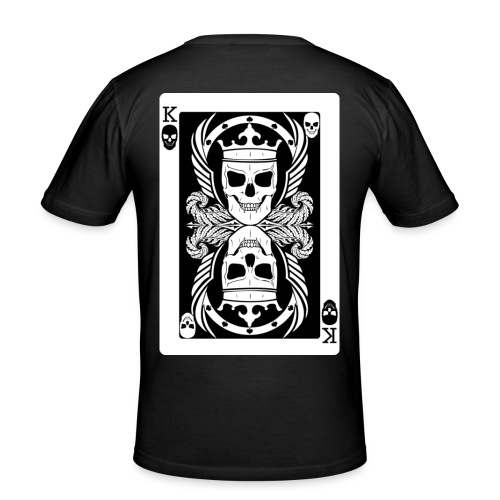 King of Skulls - Men's Slim Fit T-Shirt
