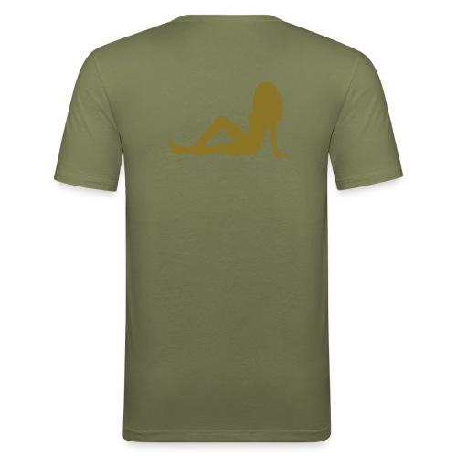 No Money No Honey - Männer Slim Fit T-Shirt