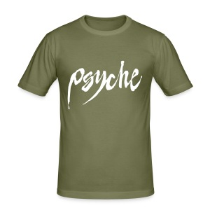 Psyche - Army Look Slim Fit T-Shirt - Men's Slim Fit T-Shirt
