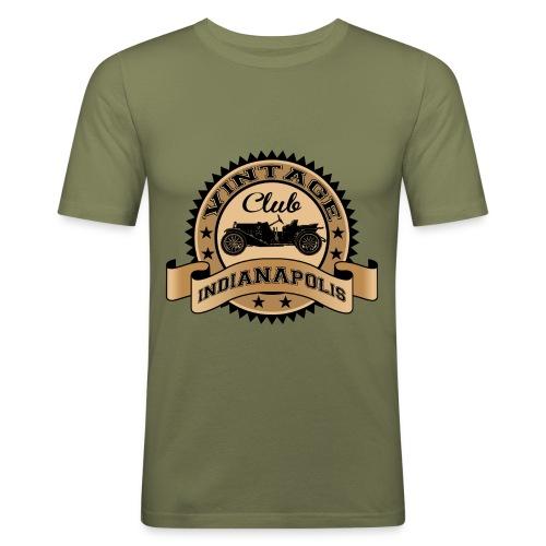 Vintage car club 04 - Men's Slim Fit T-Shirt