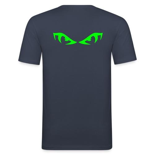 Evil Eyes - Herre Slim Fit T-Shirt