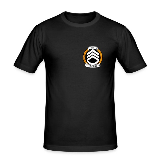 T-shirt Blason Or