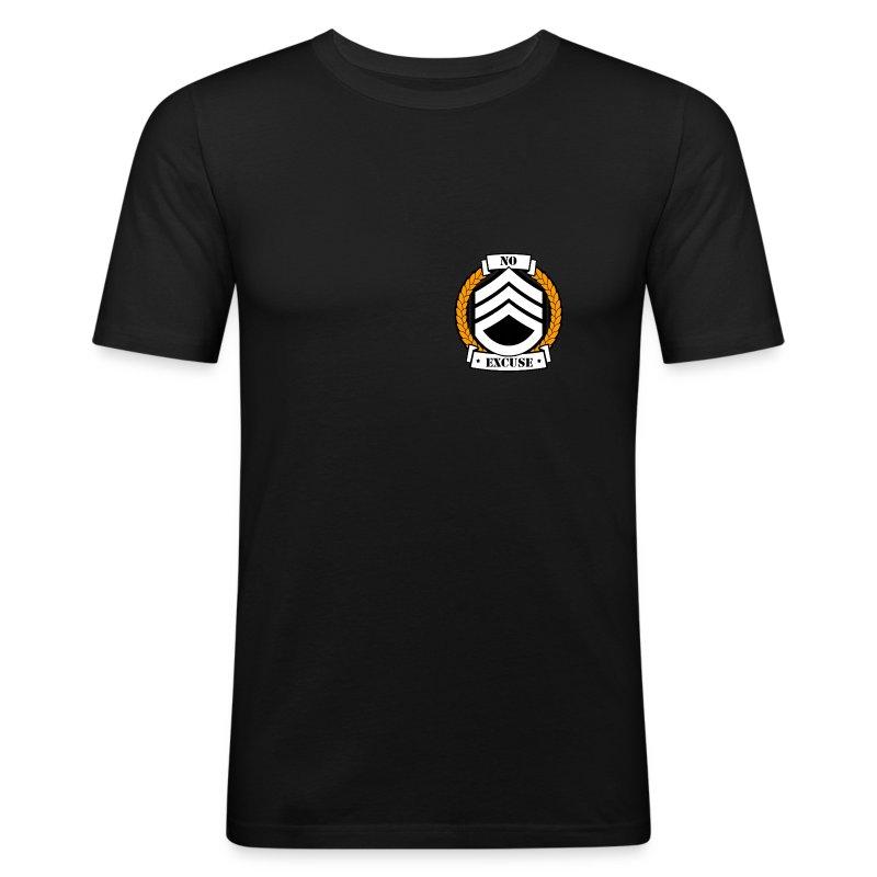 T-shirt Blason Or - Tee shirt près du corps Homme