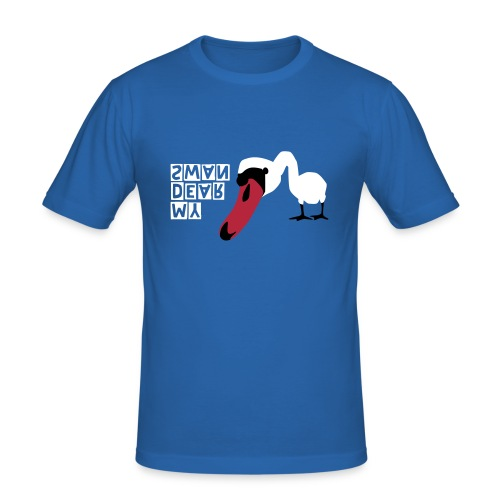 MY DEAR SWAN - Männer Slim Fit T-Shirt