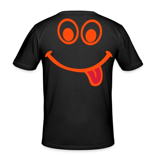 Crazy Smile - Men's Slim Fit T-Shirt
