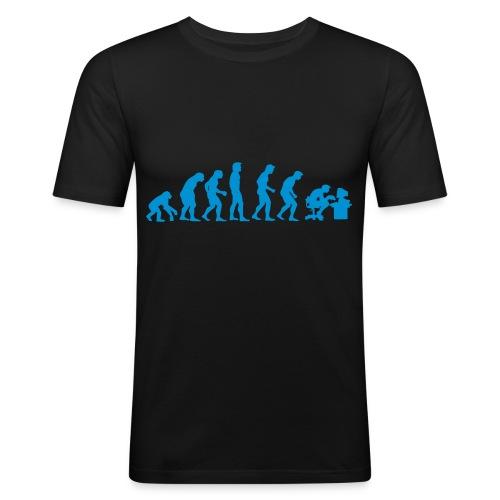 eVolution Slim Fit T-Shirt (Male) - Männer Slim Fit T-Shirt