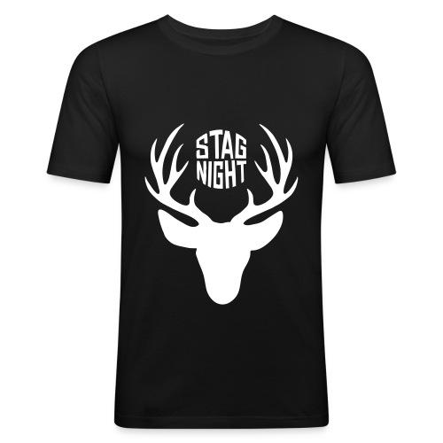 Stag Night T-shirt - Men's Slim Fit T-Shirt