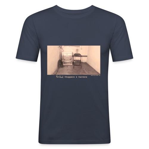 Shirt The Room - Männer Slim Fit T-Shirt
