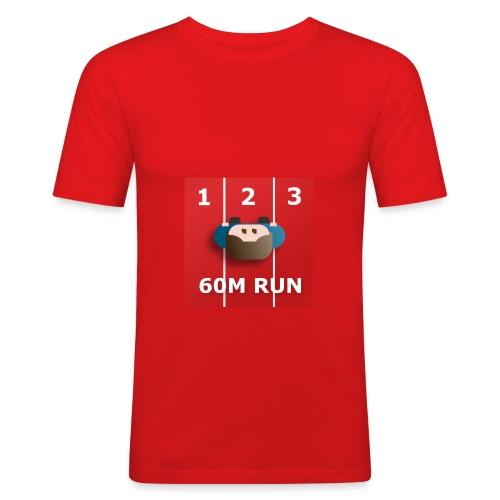 60m run -paita - Miesten tyköistuva t-paita