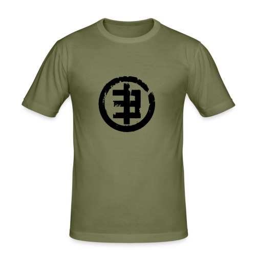Eschberg | Logo | Boys | Olive - Männer Slim Fit T-Shirt