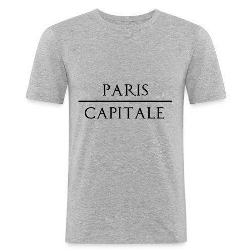 Paris Capitale - T-shirt près du corps Homme
