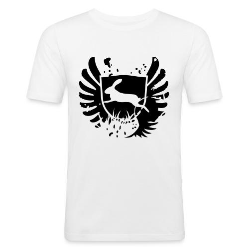 Rabbit Flame - T-shirt près du corps Homme