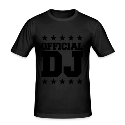 Official DJ Yellow Black - Camiseta ajustada hombre