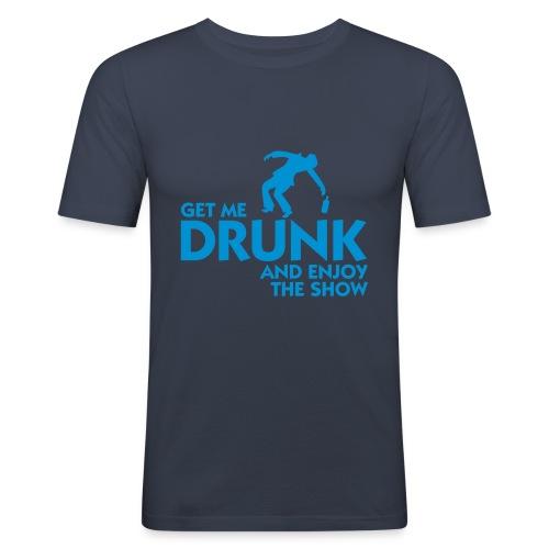 Drunk time - Men's Slim Fit T-Shirt