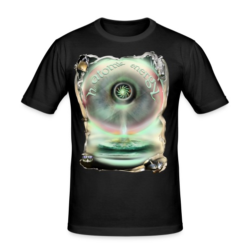 no atomic energy - slim fit T-shirt