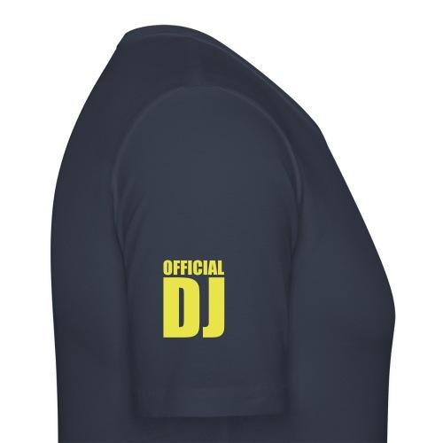 Official Dj - Maglietta aderente da uomo