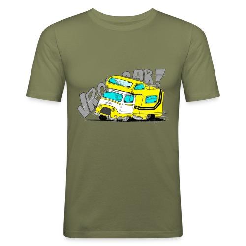 Estafette CC Full Throttle !! - T-shirt près du corps Homme