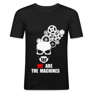 We Are Machines - Moulant - Tee shirt près du corps Homme