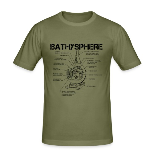 Bathysphere - Men's Slim Fit T-Shirt