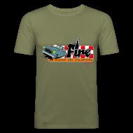 Tee shirts ~ Tee shirt près du corps Homme ~ 403 FIRE