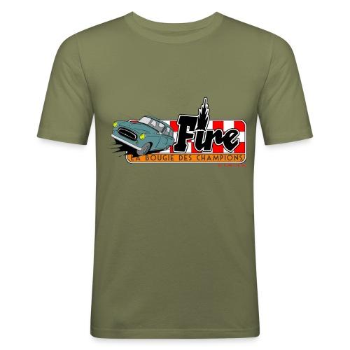 403 FIRE - T-shirt près du corps Homme