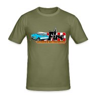 Tee shirts ~ Tee shirt près du corps Homme ~ AMI 6 - FIRE