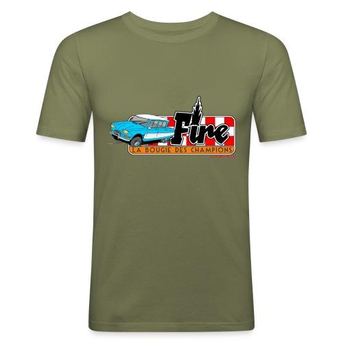 AMI 6 - FIRE - T-shirt près du corps Homme