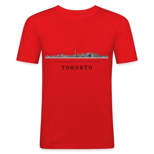 Toronto - tee shirt près du corps - T-shirt près du corps Homme