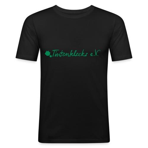 SlimFit Männer Ecki - Männer Slim Fit T-Shirt