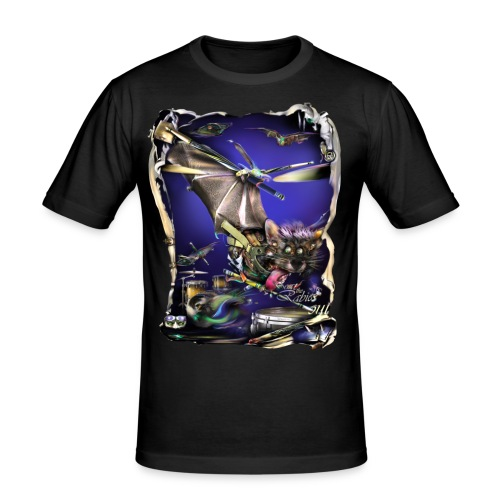 Batdrummer   - slim fit T-shirt
