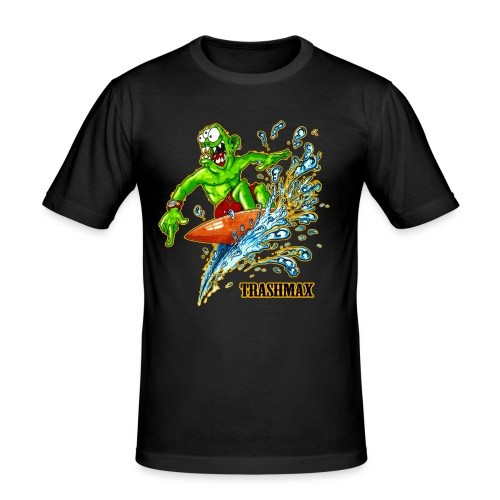surf hm 4 - Männer Slim Fit T-Shirt