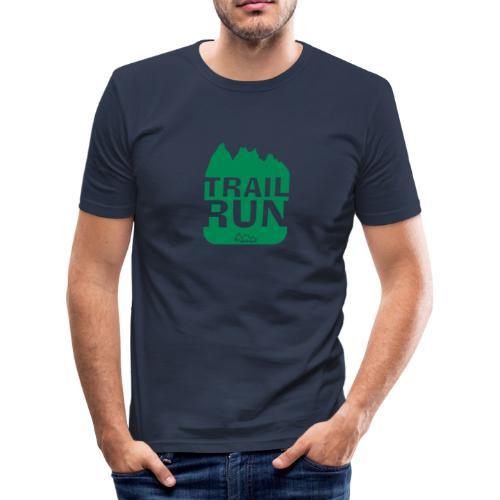 T-Shirt TRAIL Run - Männer Slim Fit T-Shirt