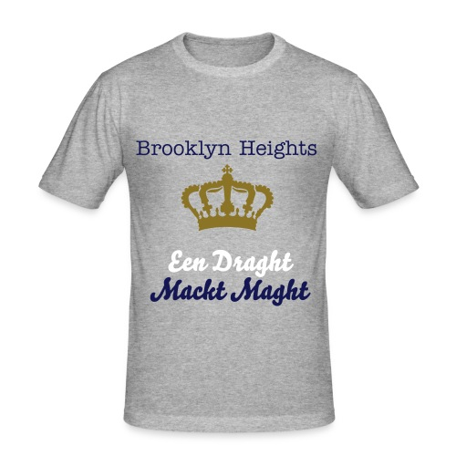 T-shirt coupe près du corps Brocklyn Heights - T-shirt près du corps Homme